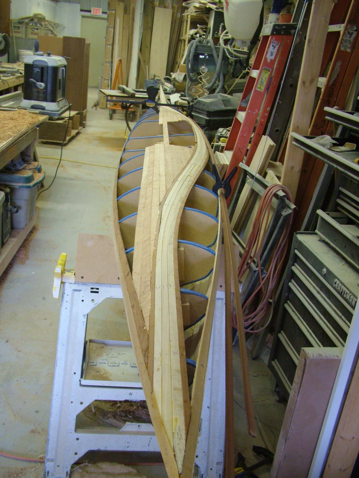 My First Wood Strip Kayak | Kayakkev's Blog