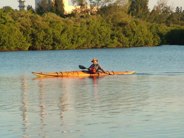 wood kayak